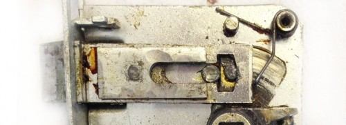 Профилактика: чистка, регулировка, подтяжка, смазка замка