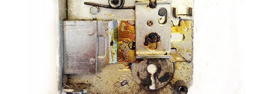 Ремонт механизма замка
