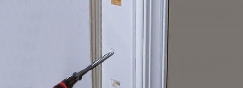 Укрепление дверной коробки
