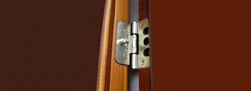 Установка противосъемных штырей двери