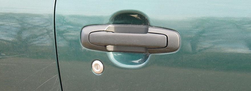 Вскрытие замка двери автомобиля