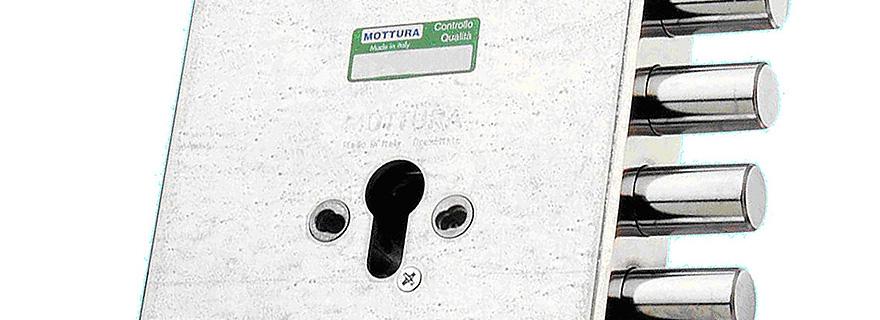 Замена личинки замка Mottura (Моттура)