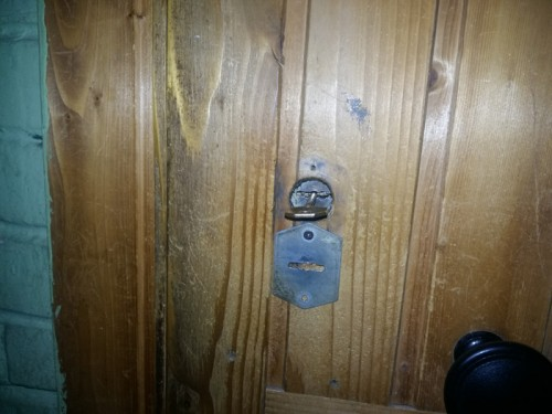 Вскрытие сувальдного замка НПО (М код) в металлической двери