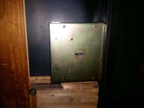 Вскрытие врезного замка НПО (М код) в металлической двери