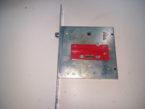 Замена врезного замка Border в металлической двери Torex