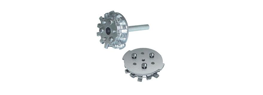 Сменный ротор (секрет-цилиндр) к врезным сувальдным-цилиндровым замкам Гардиан 21.14 и 25.14 (левые) с установкой