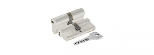 Цилиндр замка Cisa Asix OЕ 300- 18-0-12 хром с установкой
