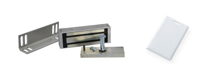 Комплект электромагнитного замка с карточкой с установкой