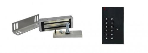 Комплект электромагнитного замка с кодонаборной панелью