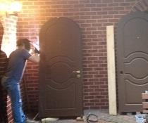 Ремонт петель с разборкой двери