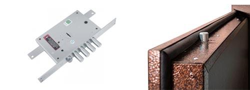 Замена замка-краба в двери с девиатором (трехканальное запирание)