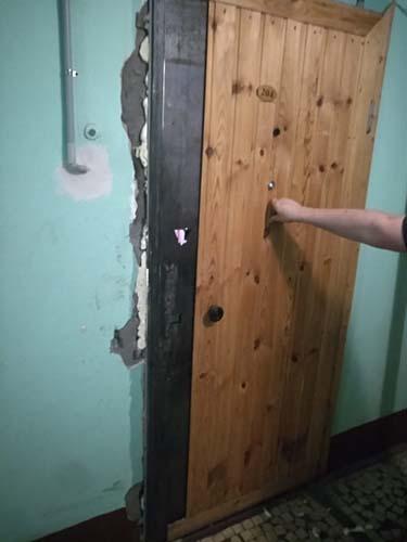Ремонт двери после вскрытия МЧС