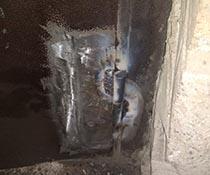 Ремонт (замена) нижней петли металлической двери в стоматологию