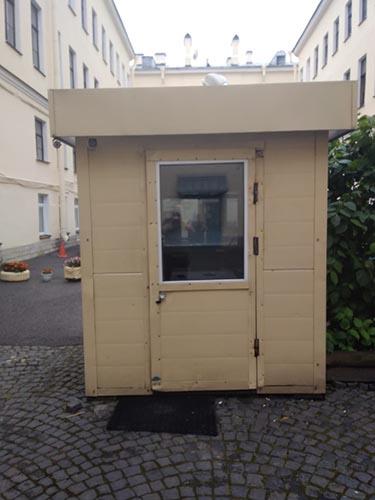 Проходная посольства Голландии в Санкт-Петербурге